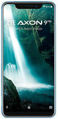 """[ebay-Mediamarkt] ZTE Axon 9 Pro Smartphone 15,8cm/6,21"""" Android 12+20+20MP 128GB Dual-SIM Blau (Blau) für 253,89€"""