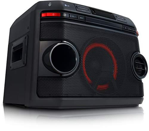 LG OL45 HiFi Anlage XBOOM mit 220 Watt (CD und Radio, USB, Multi-Bluetooth, Karaoke Funktionen)