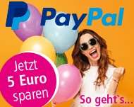 Bei Bezahlung mit Paypal 5 Euro Gutschein (MBW: 45€) bei apotal.de