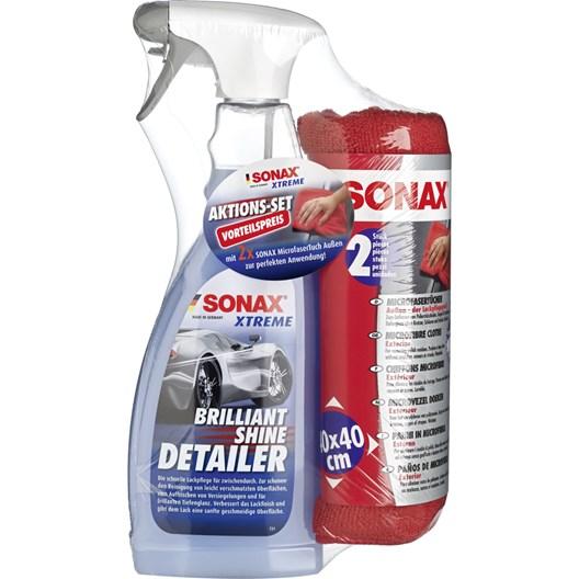 2x Sonax Brilliant Shine Detailer Aktionsset 1+1 Gratis   Lackreiniger fürs Auto
