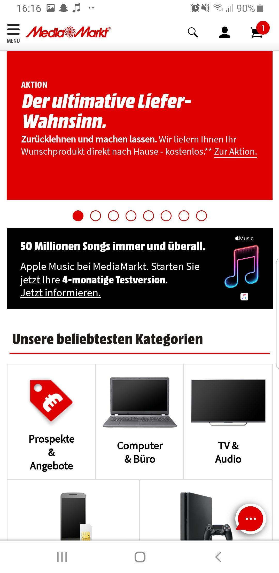 4 Monate Applemusic Gratis bei MediaMarkt für Neuanmeldungen