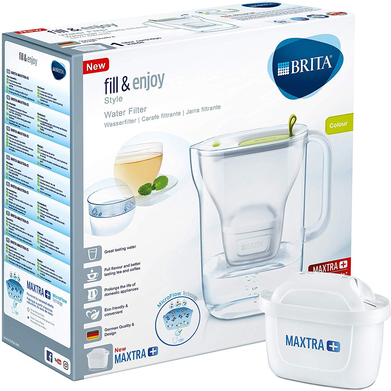 Brita Wasserfilter fill & enjoy inkl. 1 Maxtra + Filterkartusche (Hellgrün) für 15,99€ (Müller)