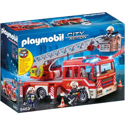 [Galeria Kaufhof/ Karstadt] durch 10 % auf Spielwaren: Playmobil Feuerwehr-Leiterfahrzeug 9463 oder Wichtelwerkstatt Adventskalender 9264