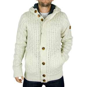 Bench Men's Koftha Fleeced Inner Knit (Beige)