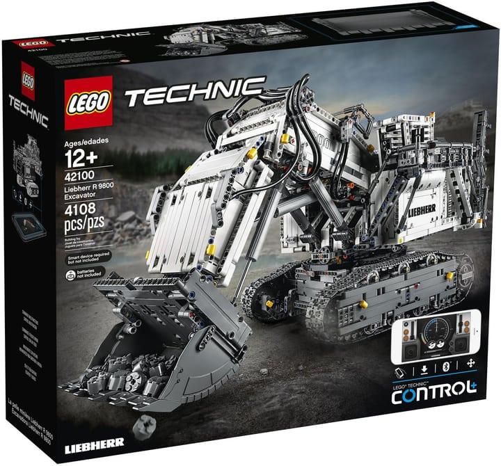 Schweiz lokal, Lego 42100 Liebherr Bagger ca.  264€