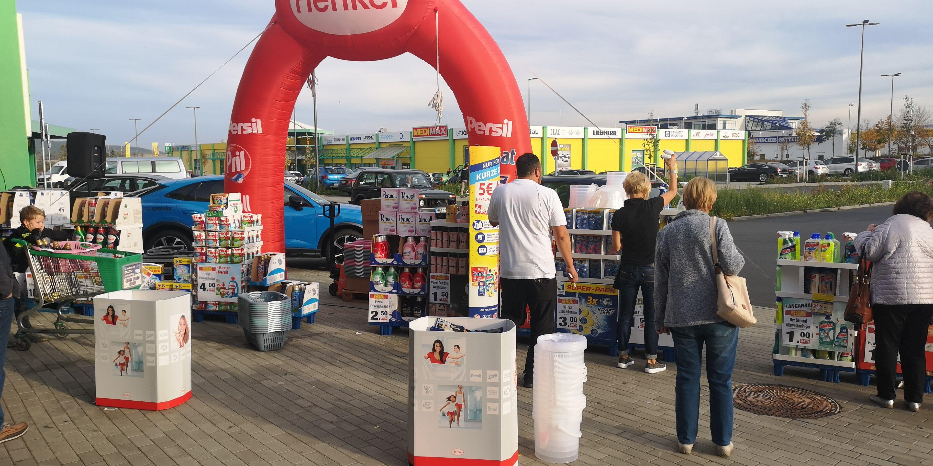 [Lokal Saalfeld 07318 vor Marktkauf] alle Reinigungs- & Waschmittel sämtlicher Art bis zu 50% reduziert (bei 10€ Einkauf sogar 75%)