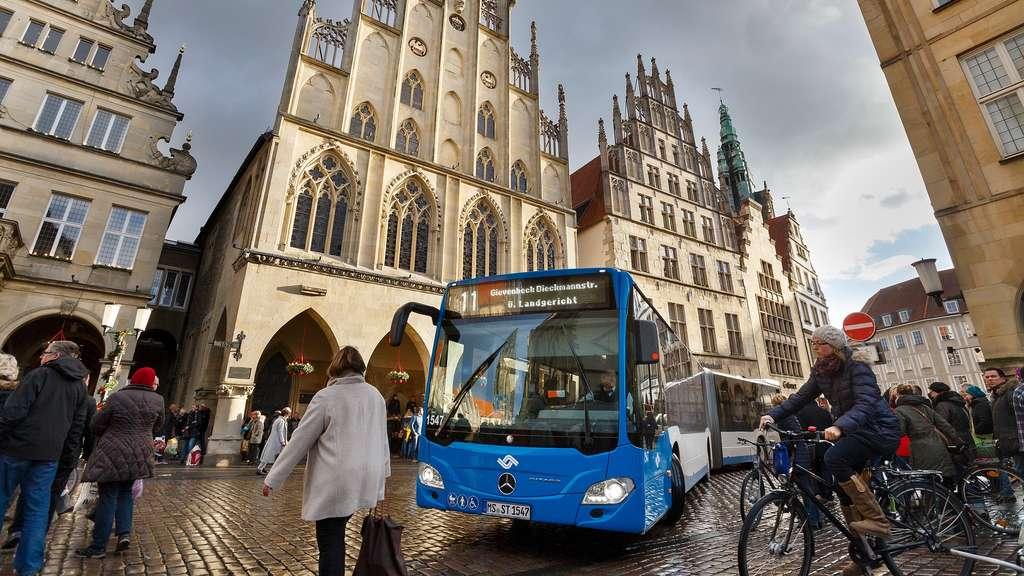 [Münster] Gratis ÖPNV an den vier Adventssamstagen