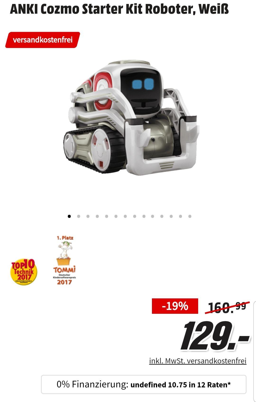 ANKI Cozmo Starter Kit Roboter in Weiß
