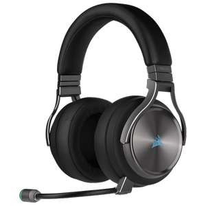 Corsair VIRTUOSO RGB WIRELESS SE Hi-Fi-Gaming-Headset – Gunmetal