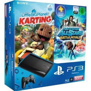 [Amazon] PS3 Super Slim 500GB + Allstars + Little Big Karting + 90 Tage PSN Plus