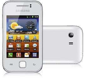 Samsung Galaxy Y weiss + 11€ Qipu  @Tmobile OnlineShop