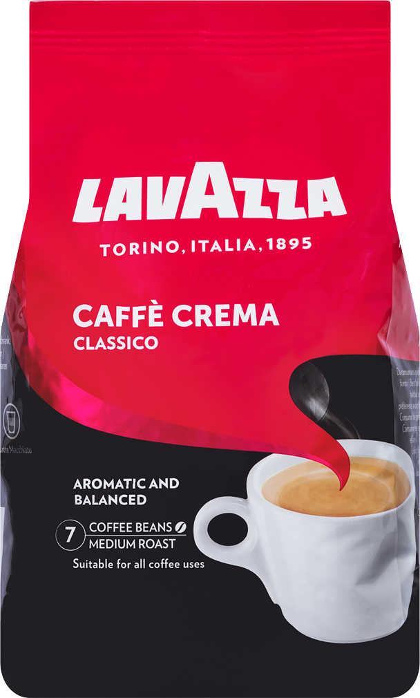 LAVAZZA Caffè Crema Classico oder Gustoso 1kg