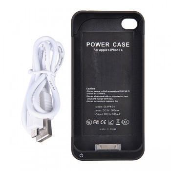 2-in-1 Backup Ladegerät + Schützhülle für iPhone 4S für 23,83€ inkl. VSK