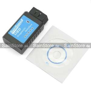 SainSpeed ELM327 Bluetooth OBD2 CAN Interface V1.4 Scanner Diagnosegerät 7,99 € bei SainStore.de