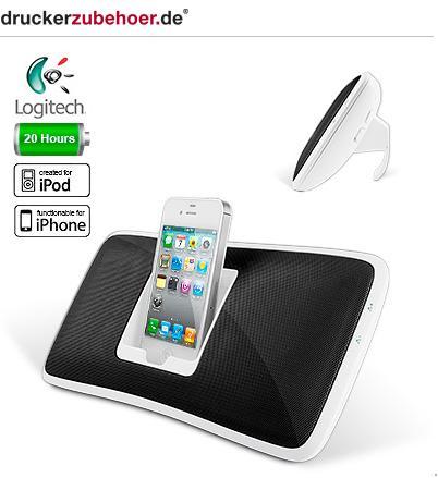 Logitech Soundsystem Dockingstation S315i für Iphone, Ipod, MP3-Player
