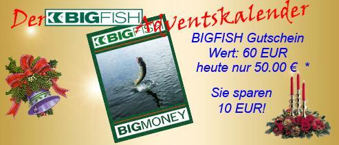 BIGFISH Angelshop 60 EUR Gutschein für 50 EUR