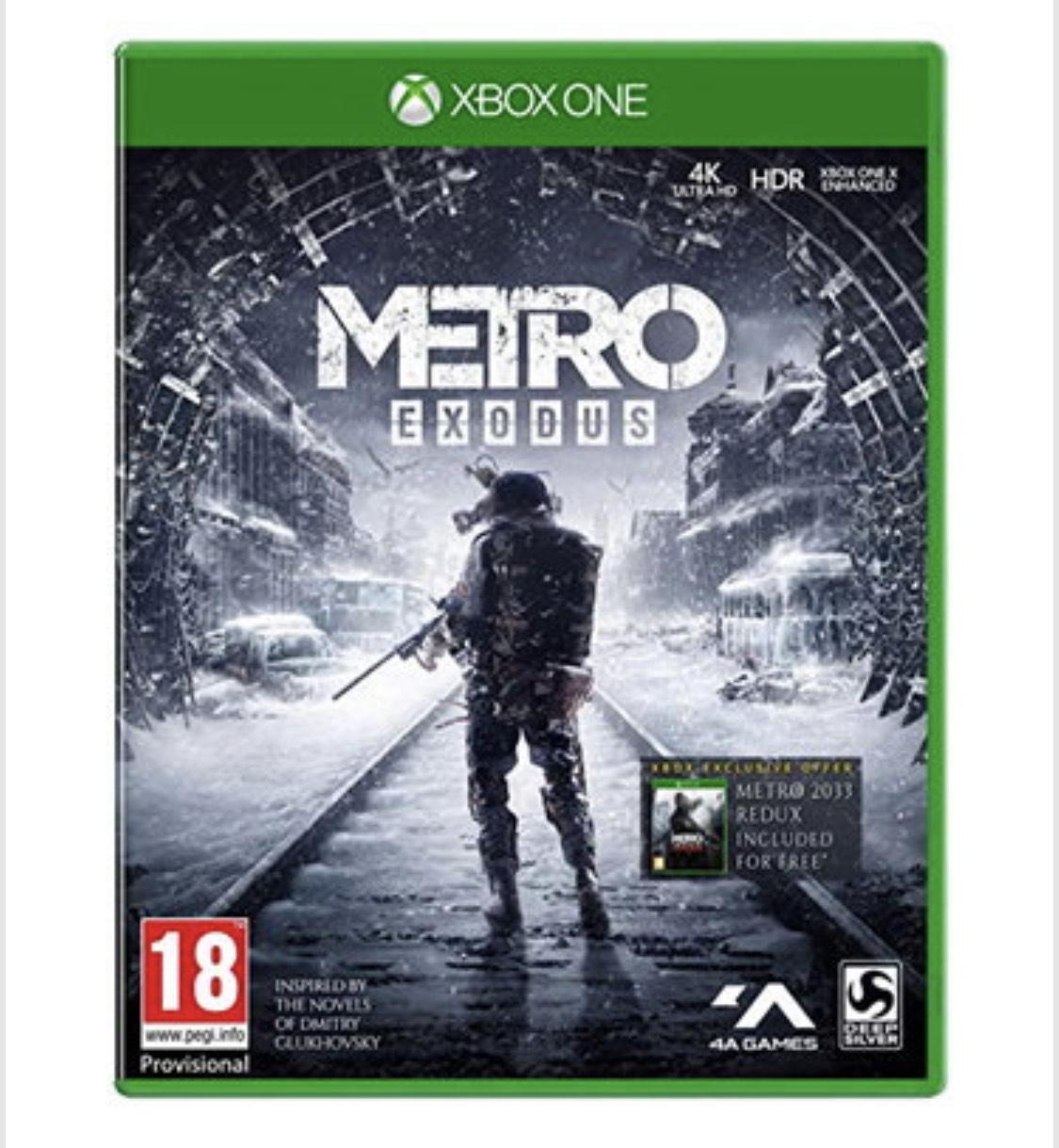 [Xbox One & PS4] Metro Exodus