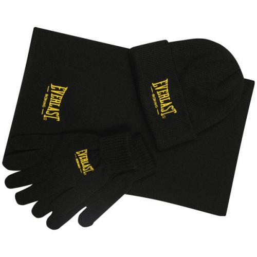 Everlast Mütze+Schal+Handschuhe Geschenkset in 4 Varianten @ zavvi