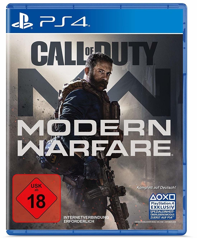 Call of Duty 16 - Modern Warfare für PS4 o. Xbox One für 47,99€ [offline Müller]