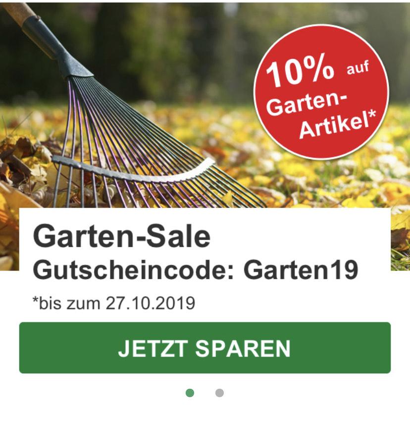 10% Rabatt auf alle Gartenartikel bei Hagebau