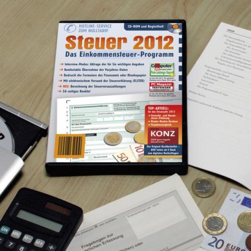 [Aldi Nord] Steuer 2012 (entspricht t@x 2013 und ähnlich WISO SteuerSparbuch 2013)