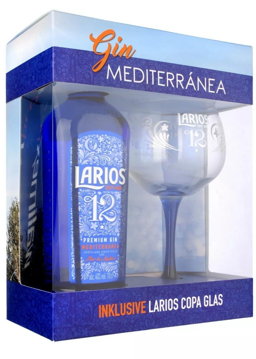 Larios 12 Gin (auch Rosé) ¦ 0,7l 40% + Copa Glas bei [Kaufland]
