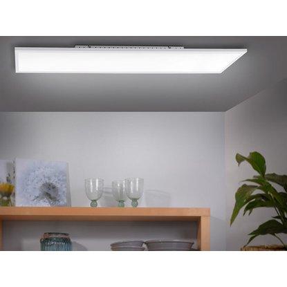 [OBI] LED-Deckenleuchte 100 cm x 25 cm Weiß dimmbar EEK: A+ Versandkostenfrei