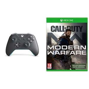 Xbox One S Wireless Controller (Grau/Blau, Sport Red Special Edition & Minecraft Pig + Call of Duty: Modern Warfare für je 78,26 (Amazon ES)