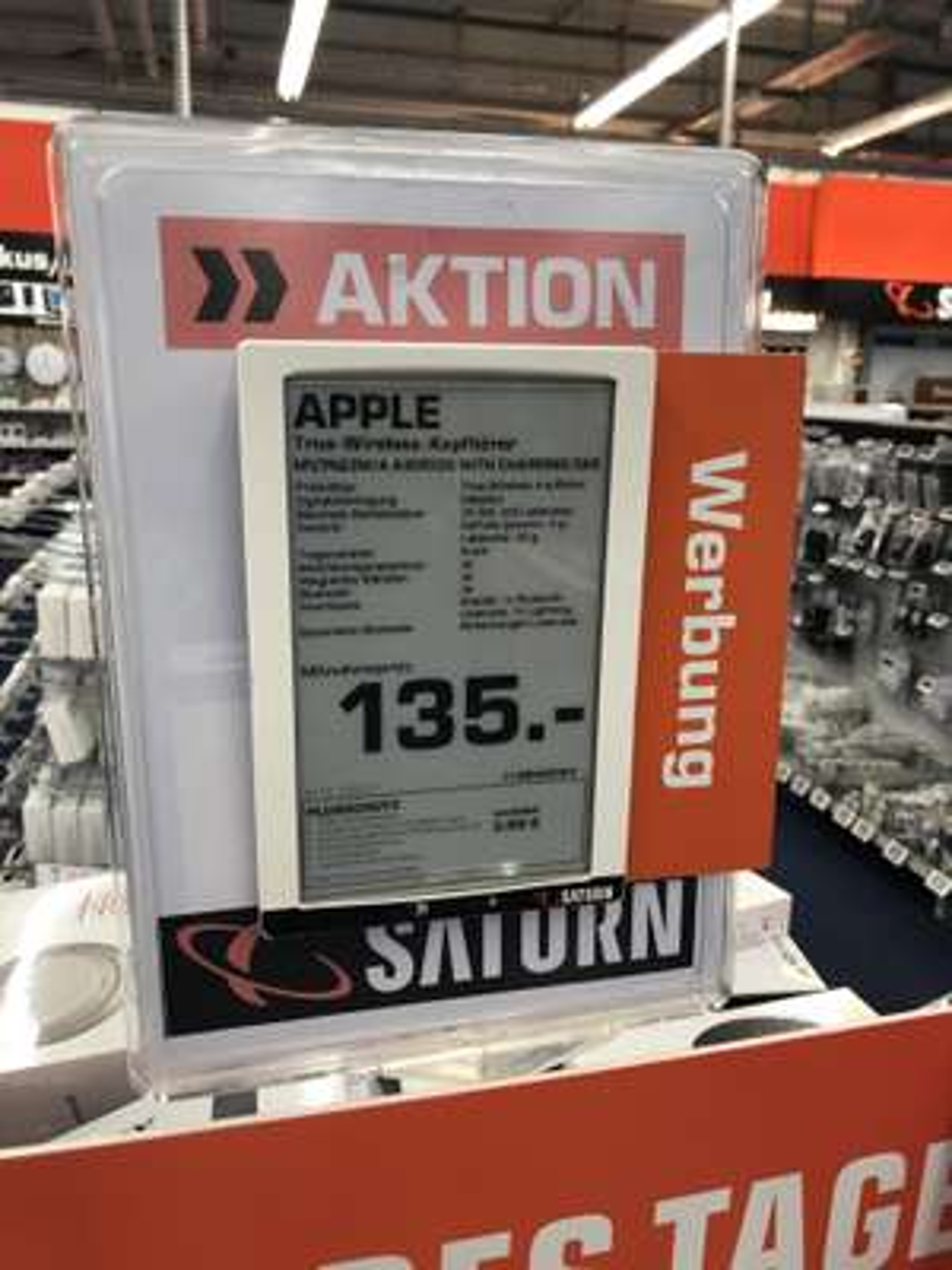 Lokal Saturn Hagen - Apple Airpods 2