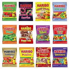 Haribo Fruchtgummi oder Lakritz, verschiedene Sorten für 59 Cent [Globus, Edeka oder Real]