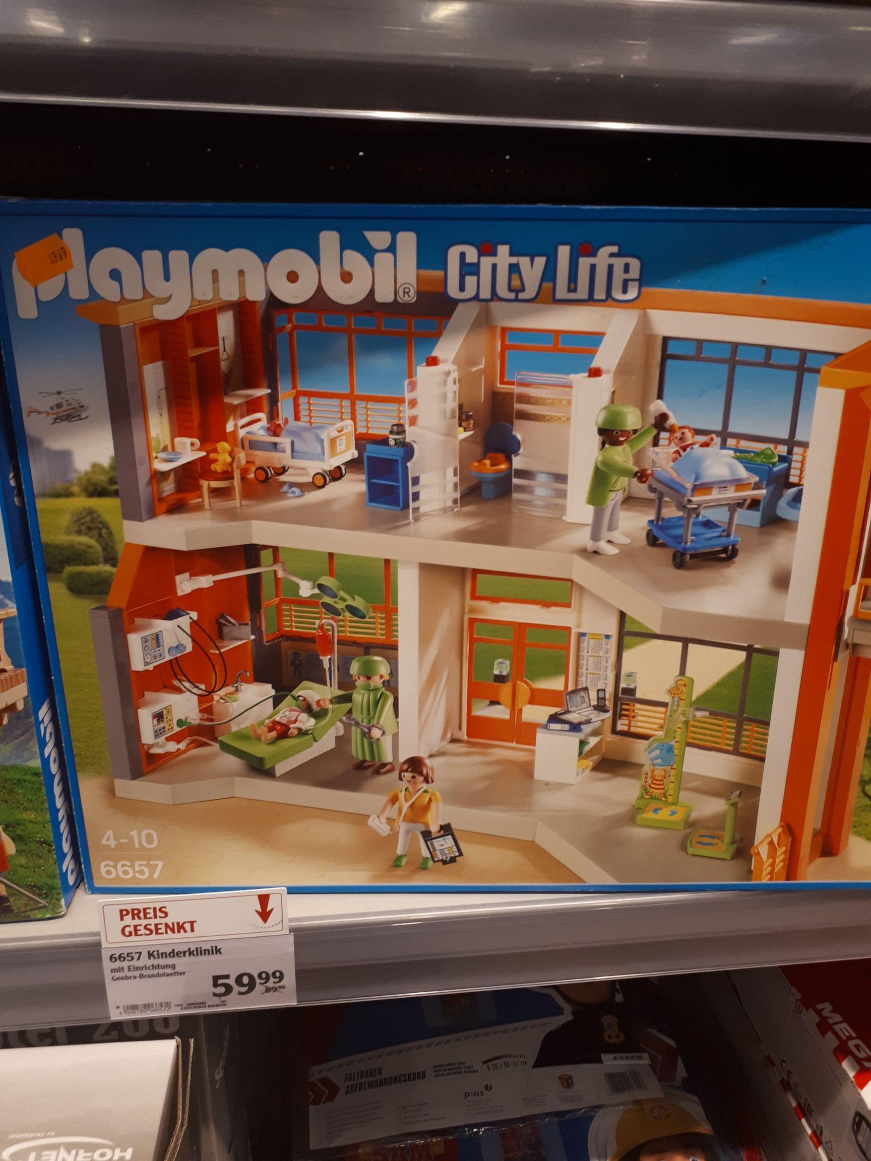 Playmobil Citylife - Kinderklinik mit Einrichtung (6657)**Lokal**