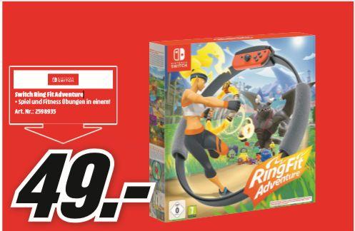 [Regional Mediamarkt Aschaffenburg und Frankfurt] Ring Fit Adventure - Nintendo Switch für 49,-€