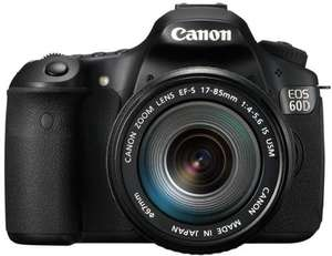 AMAZON Warehouse: Canon EOS 60D + EF-S 17-85 IS USM [-80 EUR Cashback] für ~762 EUR statt 1019 EUR [~-25%]