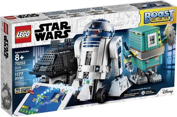 LEGO® 75253 - Star Wars, Boost Droide, App-gesteuerte und programmierbare Roboter, Programmierset für Kinder, Roboterspielzeug [Thalia]