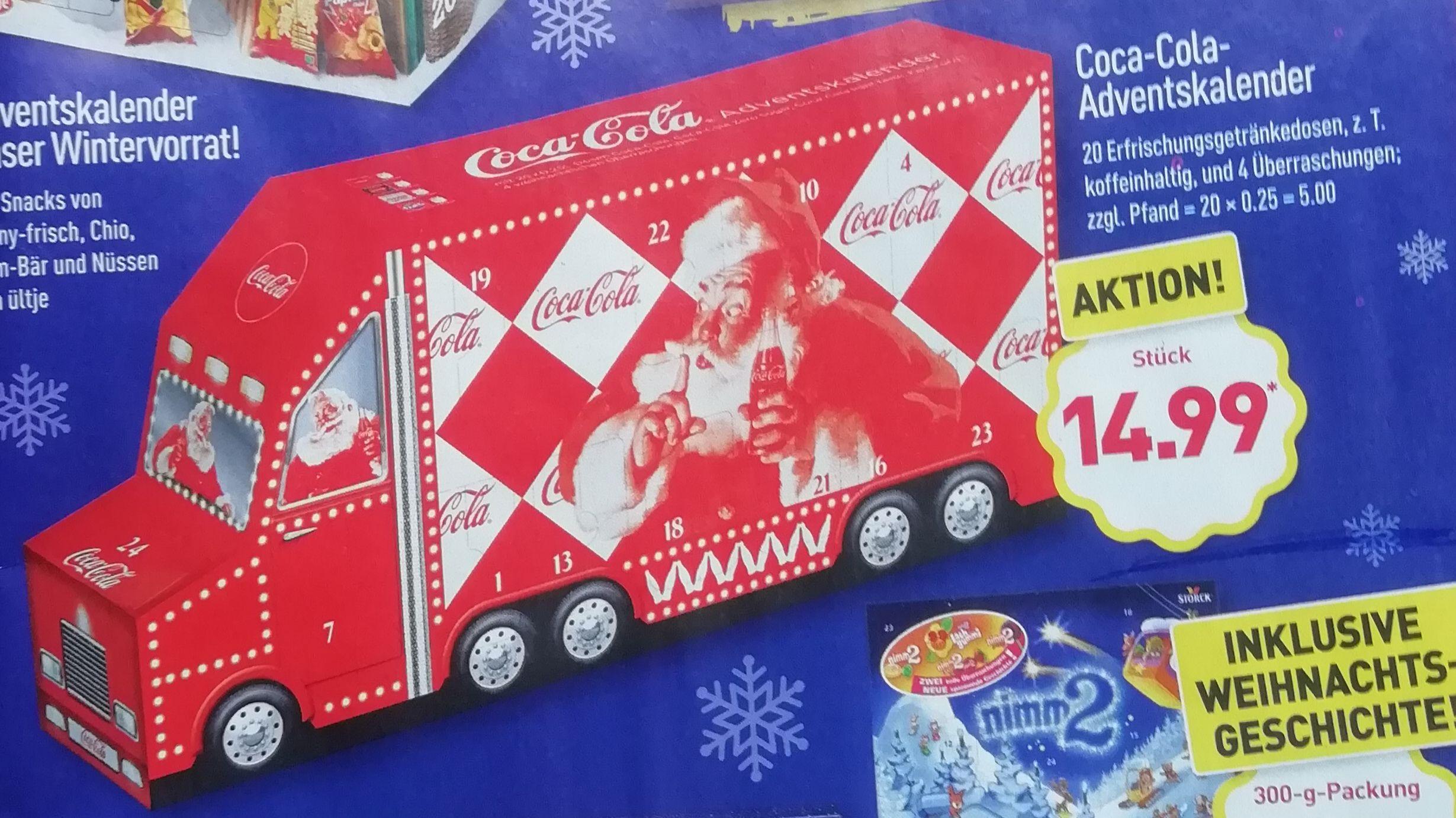 [Aldi Nord ab 1.11] Coca Cola Adventskalender|Adventskalender Unser Wintervorrat!|nimm 2 Adventskalender|Milka und Oreo Adventskalender