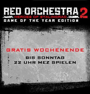 [Steam] Red Orchestra 2 free 2 play Wochenende + 75% Reduziert