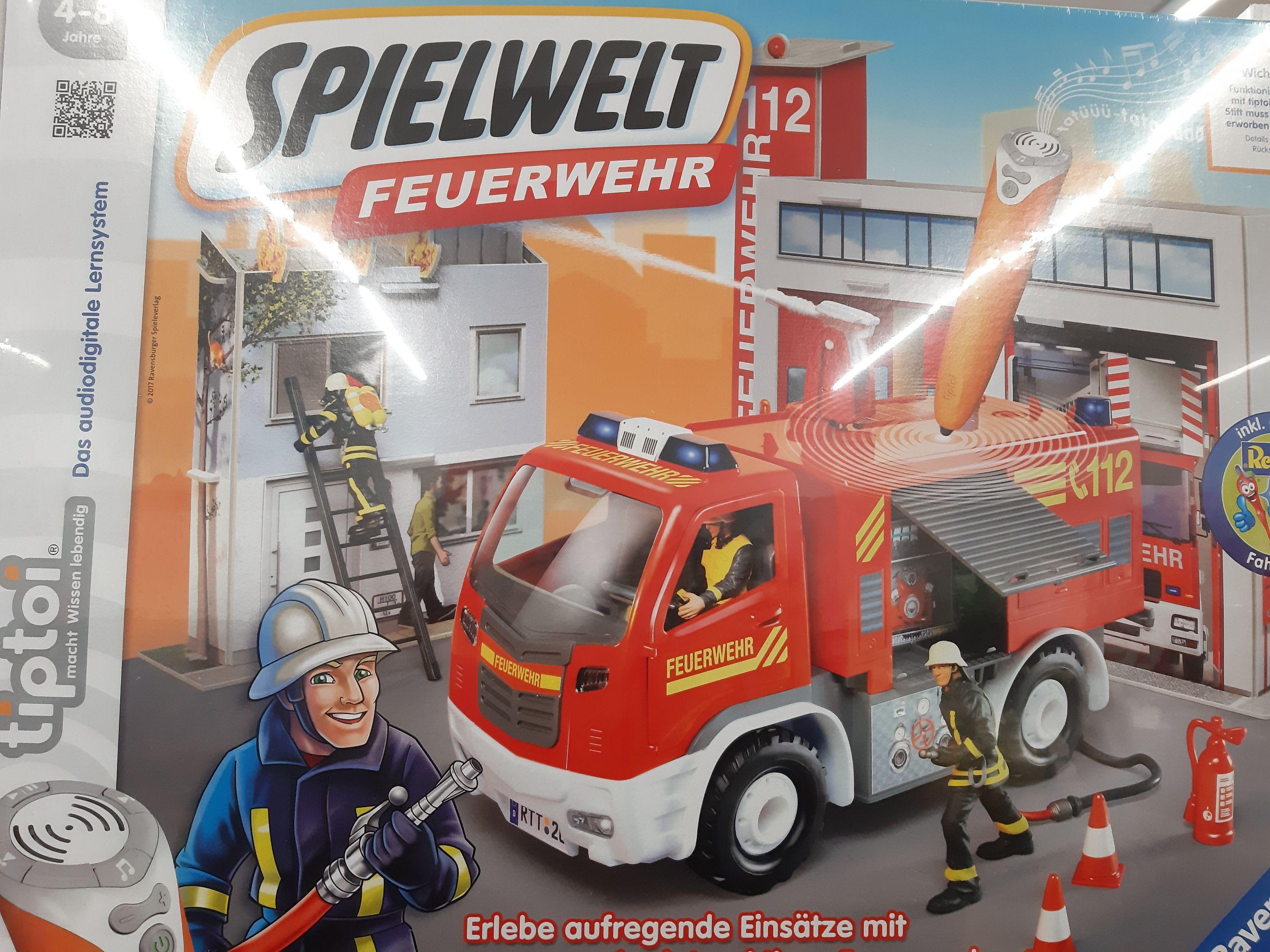 TEDi Tiptoi Spielewelt Feuerwehr Verkehrsschule