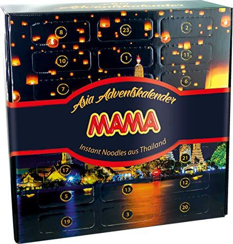 MAMA Adventskalender mit Instant Nudeln aus Thailand