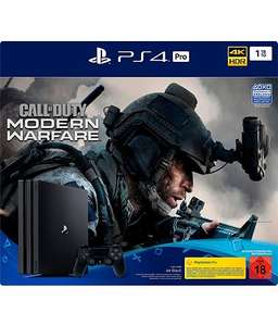 SONY PlayStation 4 PRO 1TB Call of Duty Modern Warfare Bundle für 311,02€ inkl. Versandkosten / Schwab Bestandskunden