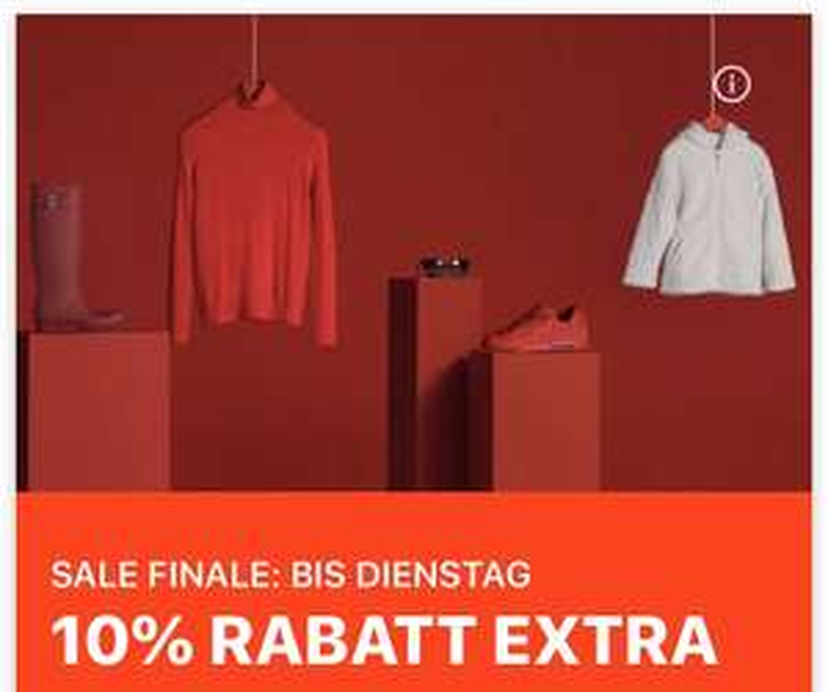 Zalando Sale Finale 10% (Ohne MBW)
