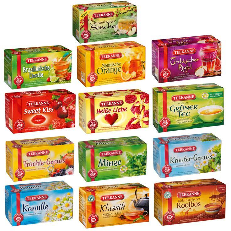 [Netto Markendiscount] Tee von Teekanne Früchte oder Kräuter für 1 Euro