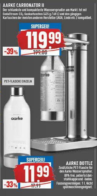 [Marktkauf] Aarke Carbonator II Wassersprudler Silber (evtl. lokal Münster / regional Rhein-Ruhr)