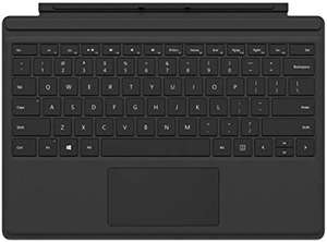 Microsoft Surface Pro Type Cover ODER Signature Type Cover (Kompatibel mit Surface Pro 6/Pro/Pro 4/Pro 3)