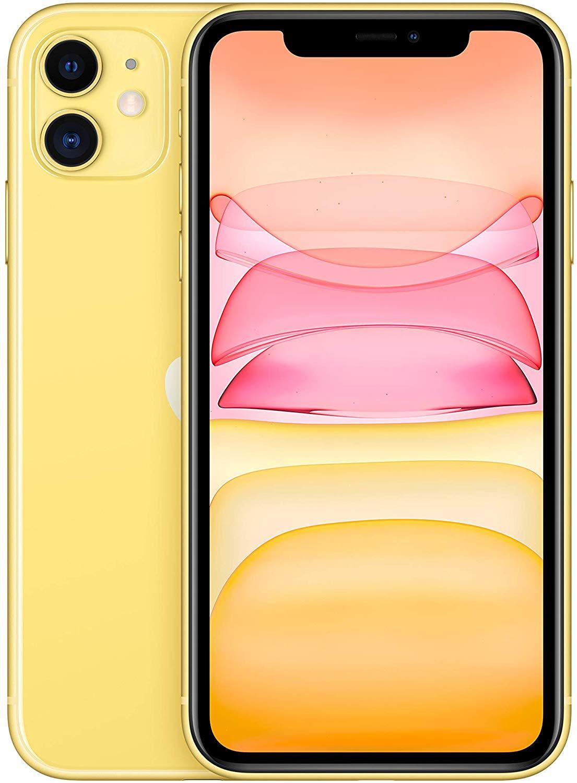 Apple iPhone 11 gelb 64 GB Bestpreis bei Amazon für 671,48€