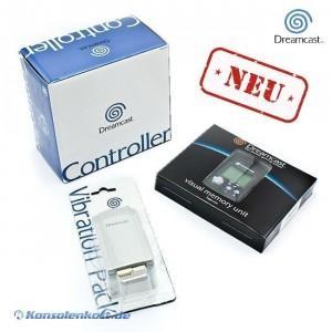 Neuer Dreamcast-Controller mit Vibrationpack und VMU für 13,99€ @ Ebay.de