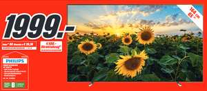 "[lokal: Media Markt Bochum & Castrop-Rauxel] Philips 65OLED804 - 65"" 4K UHD OLED TV (120 Hz, 10bit, Android TV, Ambilight)"