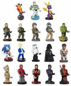 Diverse Cable Guys (Handy-, Playstation Controller Halterung) z.B.: Crash Bandicoot, Spyro, Spider Man für 17,99€ bei ebay.de