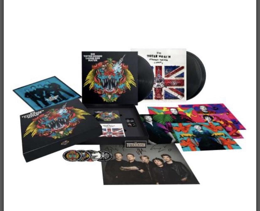Die Toten Hosen - Laune der Natur Vinyl Limited Box (JPC, WOM, AMAZON)