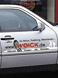 [Lokal] [[Bernhausen und Ulm] 150 Euro Woick-Einkaufsgutschein für Autobeschriftung