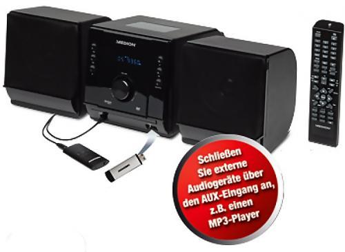 [offline + Lokal Aldi Hamburg-Nedderfeld 70 EKZ] Medion Life P64085 (MD 83407) DVD-Micro-Audio-System39€
